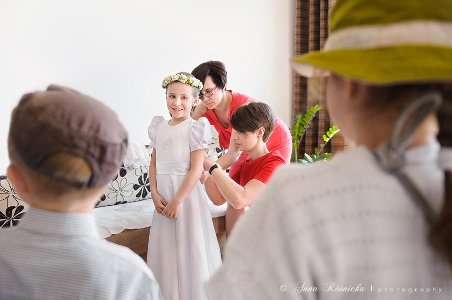 Reportaż z Komunii Świętej